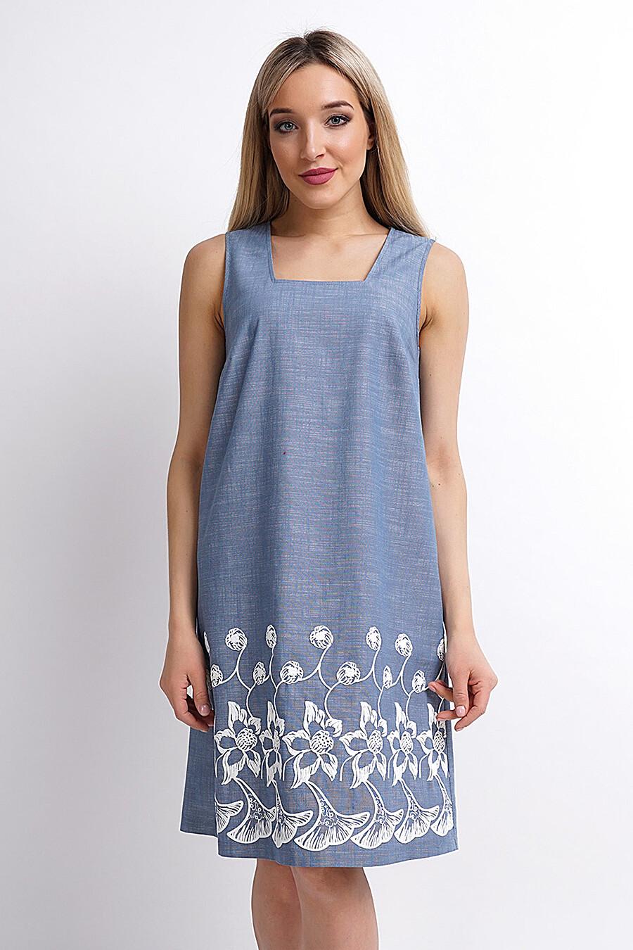 Платье для женщин CLEVER 158035 купить оптом от производителя. Совместная покупка женской одежды в OptMoyo