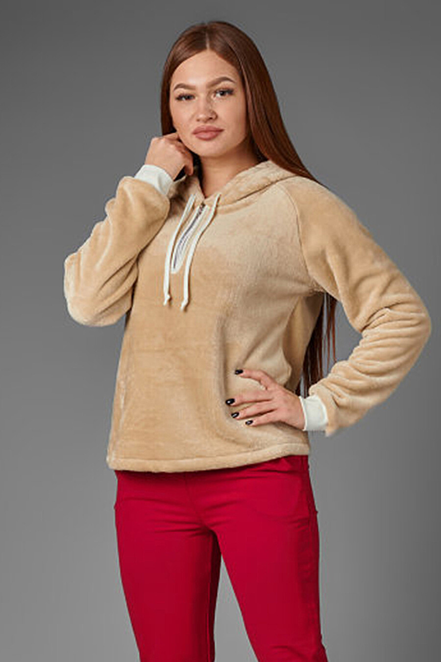 Толстовка для женщин ALTEX 158164 купить оптом от производителя. Совместная покупка женской одежды в OptMoyo