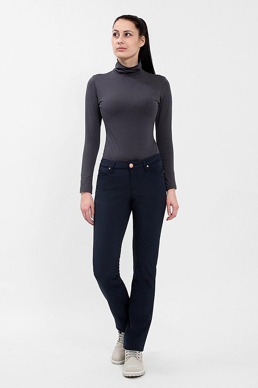 Брюки утепленные для женщин F5 161299 купить оптом от производителя. Совместная покупка женской одежды в OptMoyo