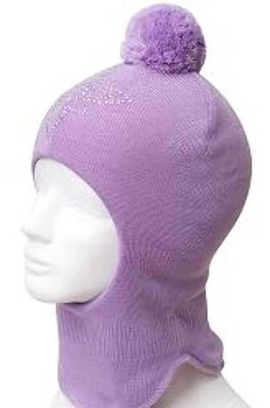 Шапка для девочек CLEVER 164440 купить оптом от производителя. Совместная покупка детской одежды в OptMoyo