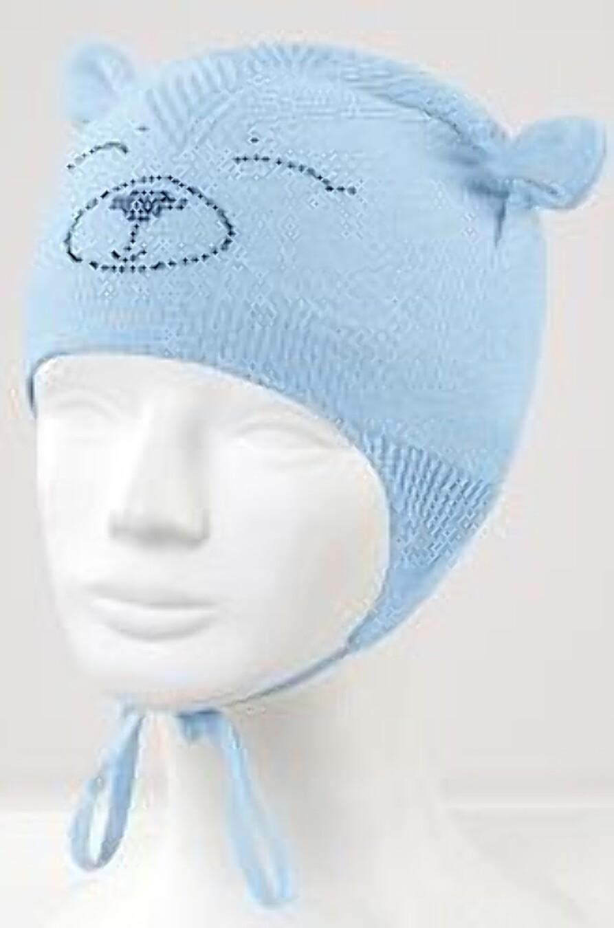 Шапка для девочек CLEVER 164443 купить оптом от производителя. Совместная покупка детской одежды в OptMoyo