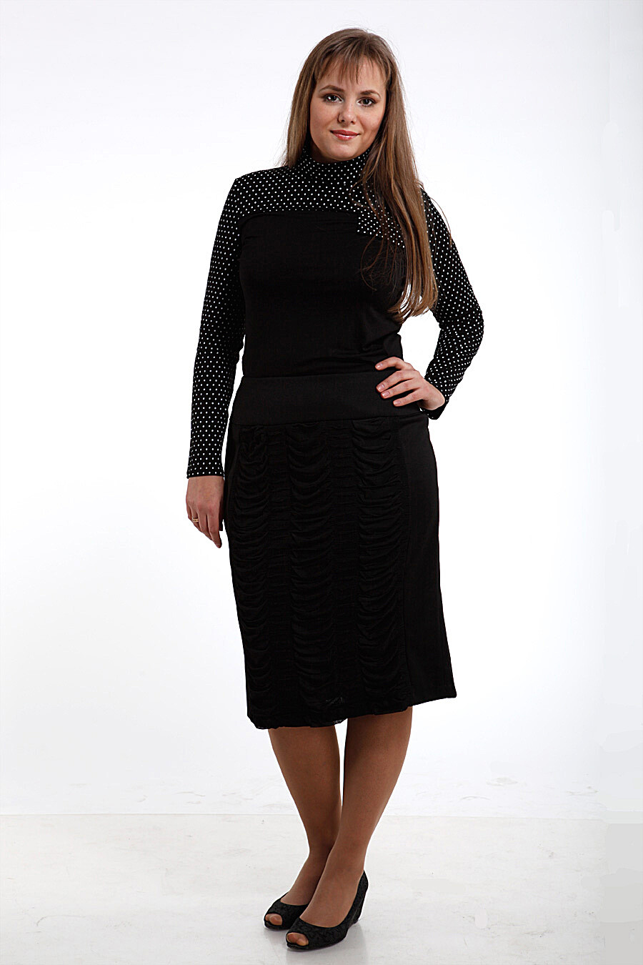 Юбка для женщин DREAM WORLD 165414 купить оптом от производителя. Совместная покупка женской одежды в OptMoyo
