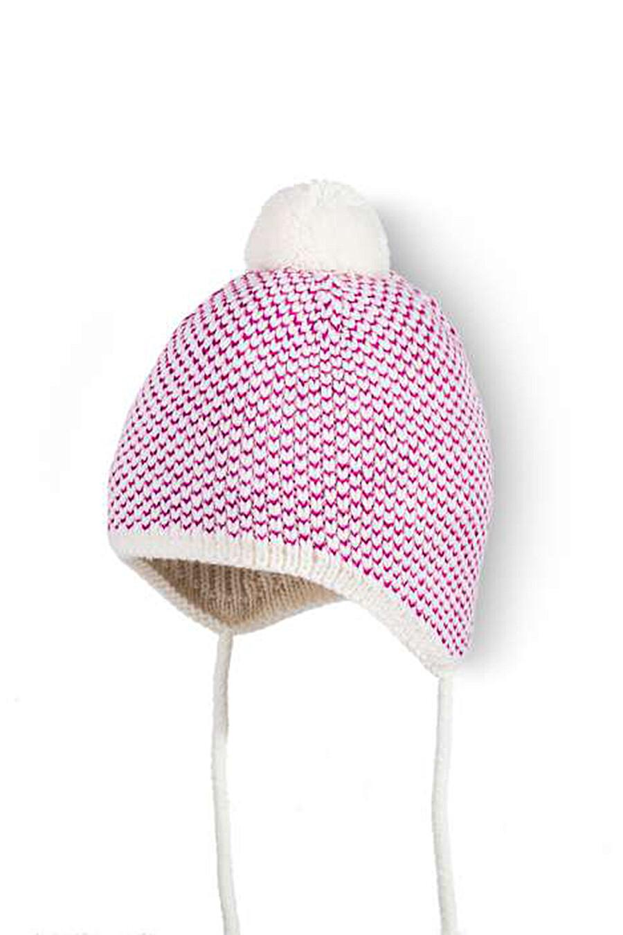Шапка для девочек ESLI 165614 купить оптом от производителя. Совместная покупка детской одежды в OptMoyo