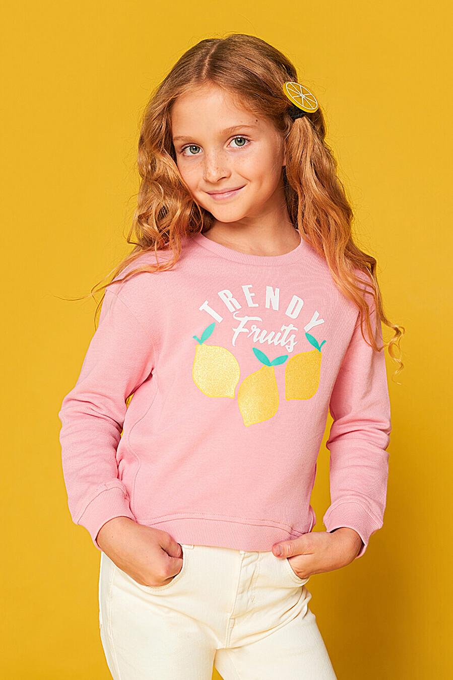 Джемпер для девочек IN FUNT 168635 купить оптом от производителя. Совместная покупка детской одежды в OptMoyo