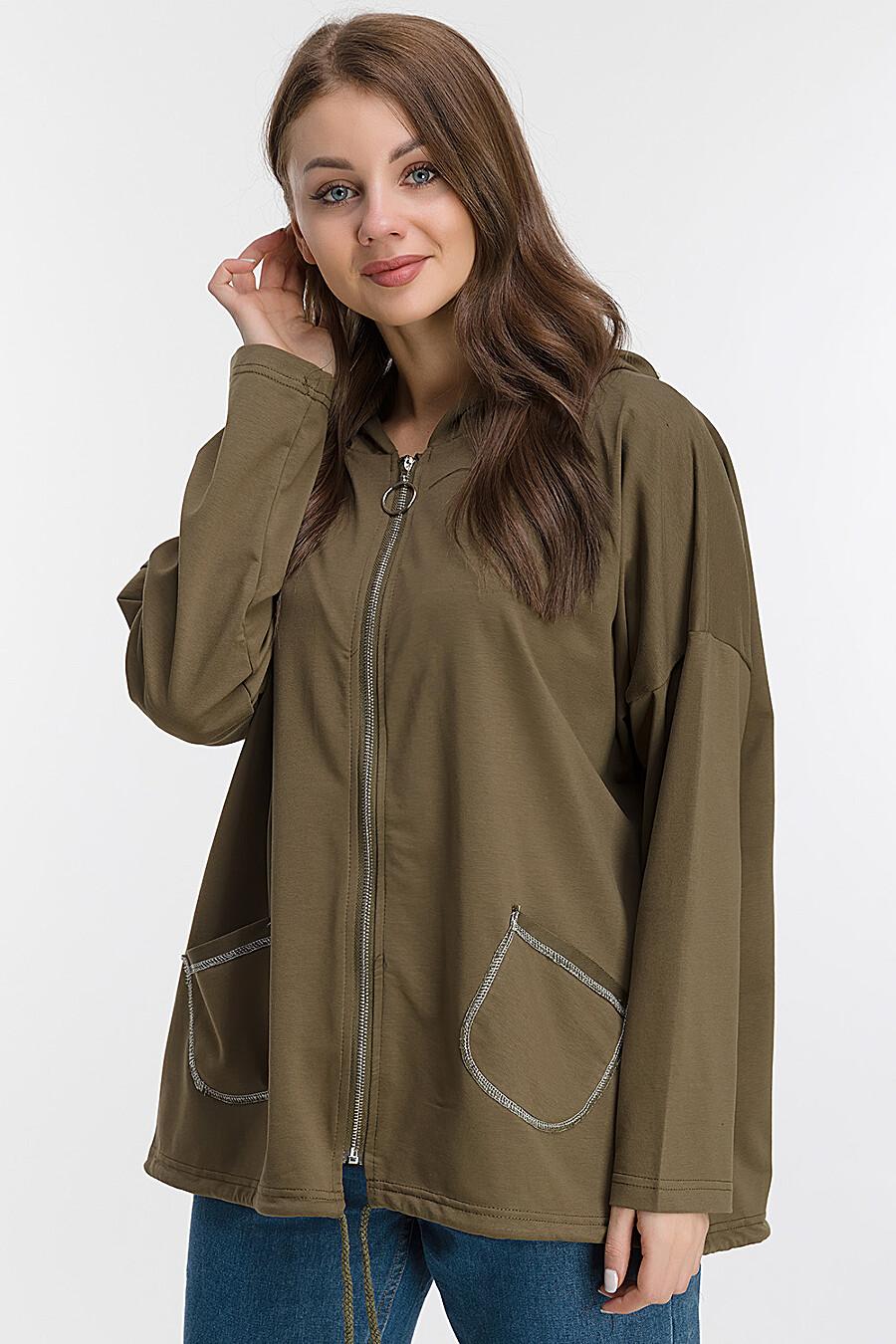 Ветровка для женщин MODALIME 169441 купить оптом от производителя. Совместная покупка женской одежды в OptMoyo