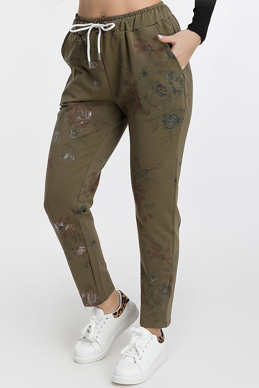 Брюки для женщин MODALIME 169467 купить оптом от производителя. Совместная покупка женской одежды в OptMoyo