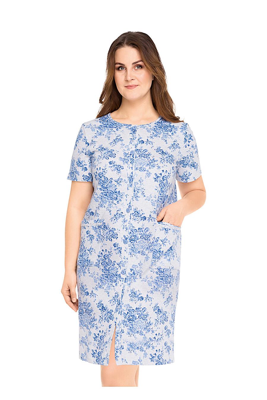 Халат для женщин CLEVER 176008 купить оптом от производителя. Совместная покупка женской одежды в OptMoyo