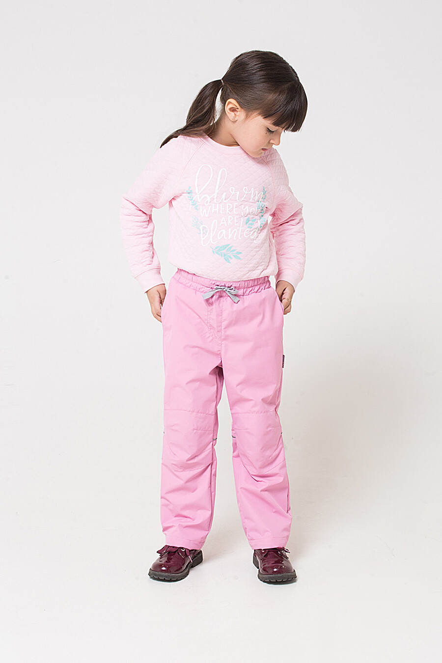 Брюки для девочек CROCKID 176084 купить оптом от производителя. Совместная покупка детской одежды в OptMoyo