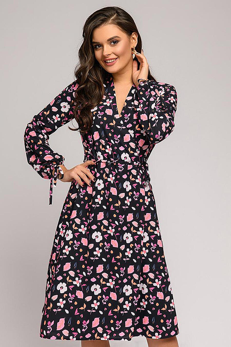 Платье для женщин 1001 DRESS 176146 купить оптом от производителя. Совместная покупка женской одежды в OptMoyo