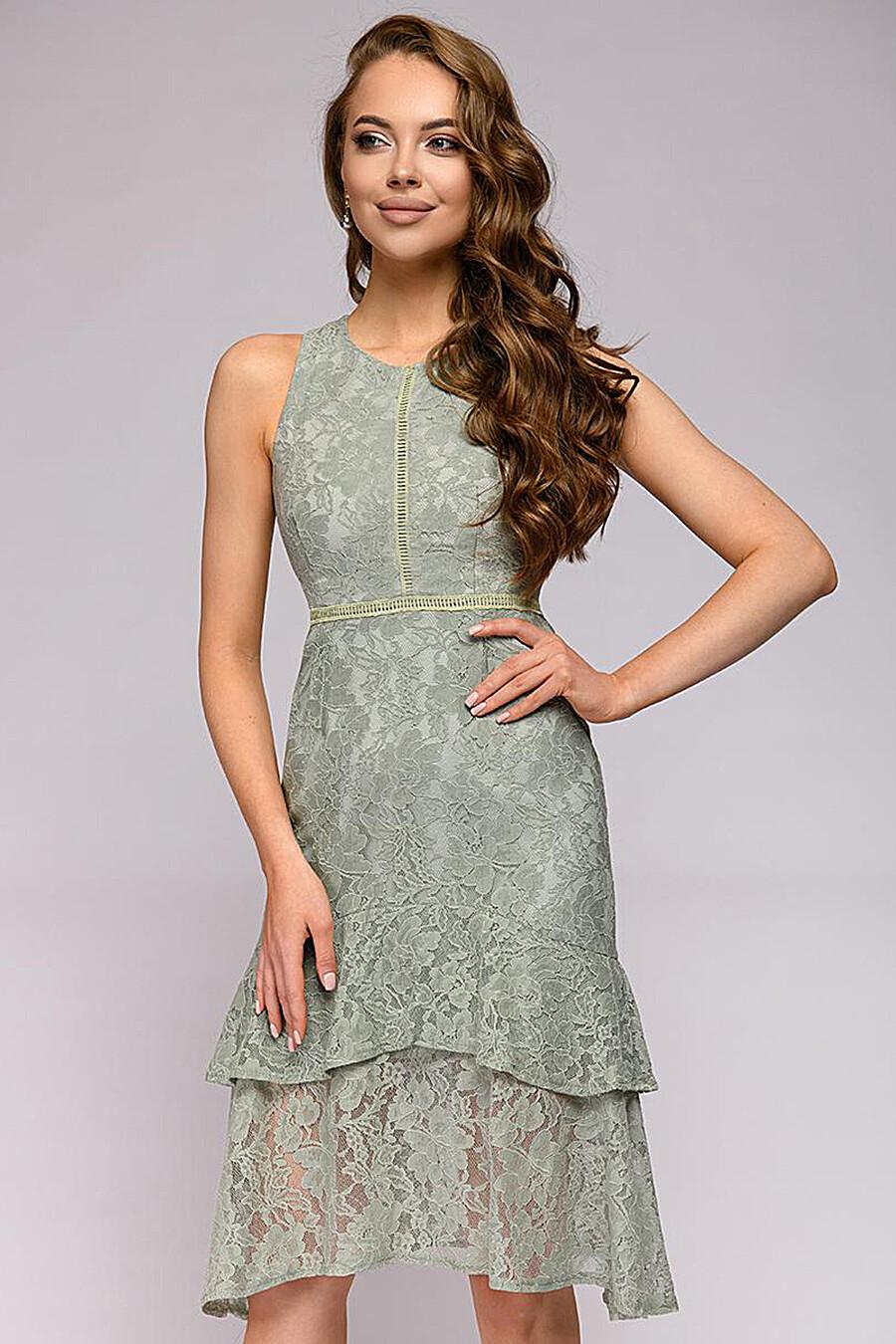 Платье для женщин 1001 DRESS 181018 купить оптом от производителя. Совместная покупка женской одежды в OptMoyo