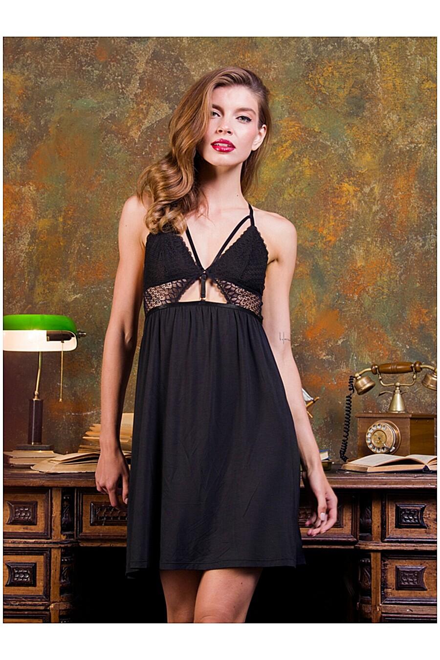 Сорочка для женщин INDEFINI 205122 купить оптом от производителя. Совместная покупка женской одежды в OptMoyo