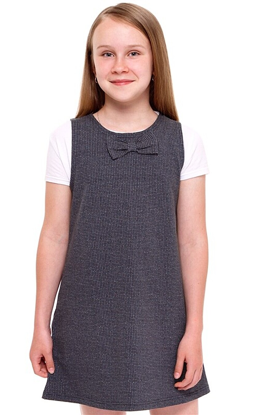 Сарафан для девочек АПРЕЛЬ 219232 купить оптом от производителя. Совместная покупка детской одежды в OptMoyo