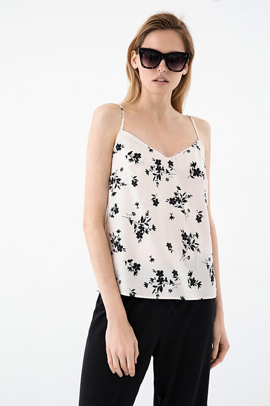 Топ для женщин ZARINA 227005 купить оптом от производителя. Совместная покупка женской одежды в OptMoyo