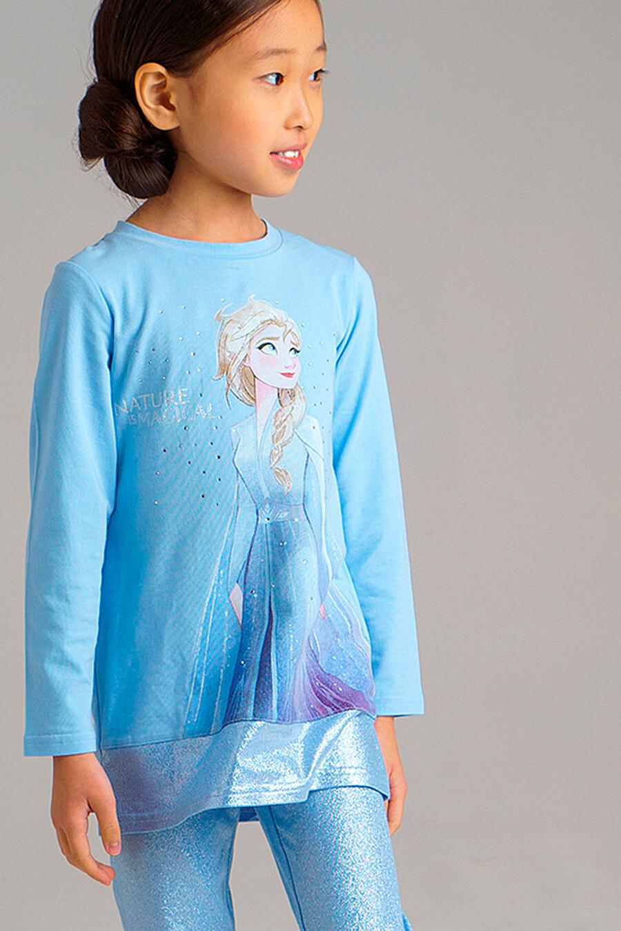 Лонгслив для девочек PLAYTODAY 239296 купить оптом от производителя. Совместная покупка детской одежды в OptMoyo