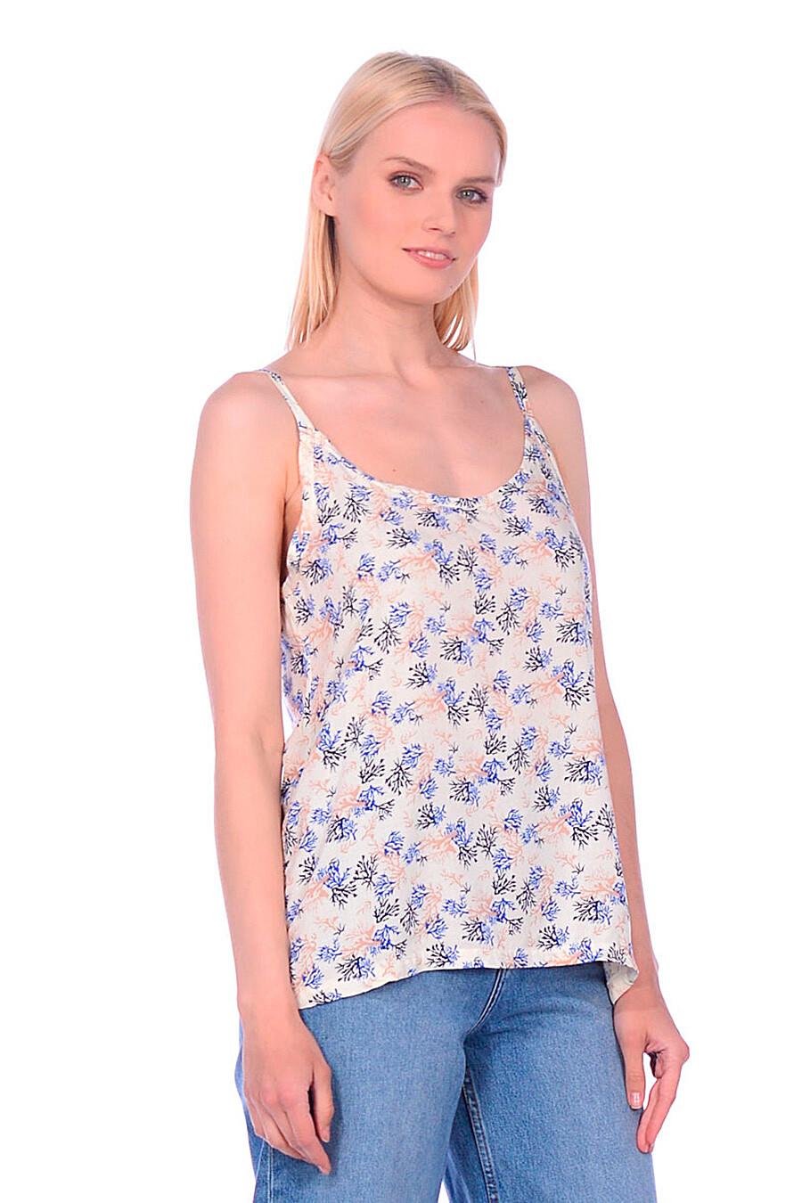Майка для женщин N.O.A. 239626 купить оптом от производителя. Совместная покупка женской одежды в OptMoyo