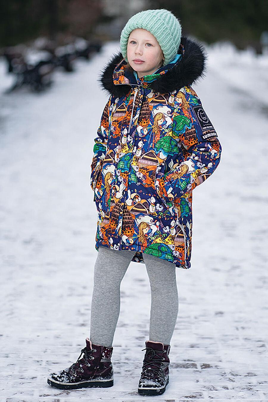 Парка для девочек BATIK 247015 купить оптом от производителя. Совместная покупка детской одежды в OptMoyo