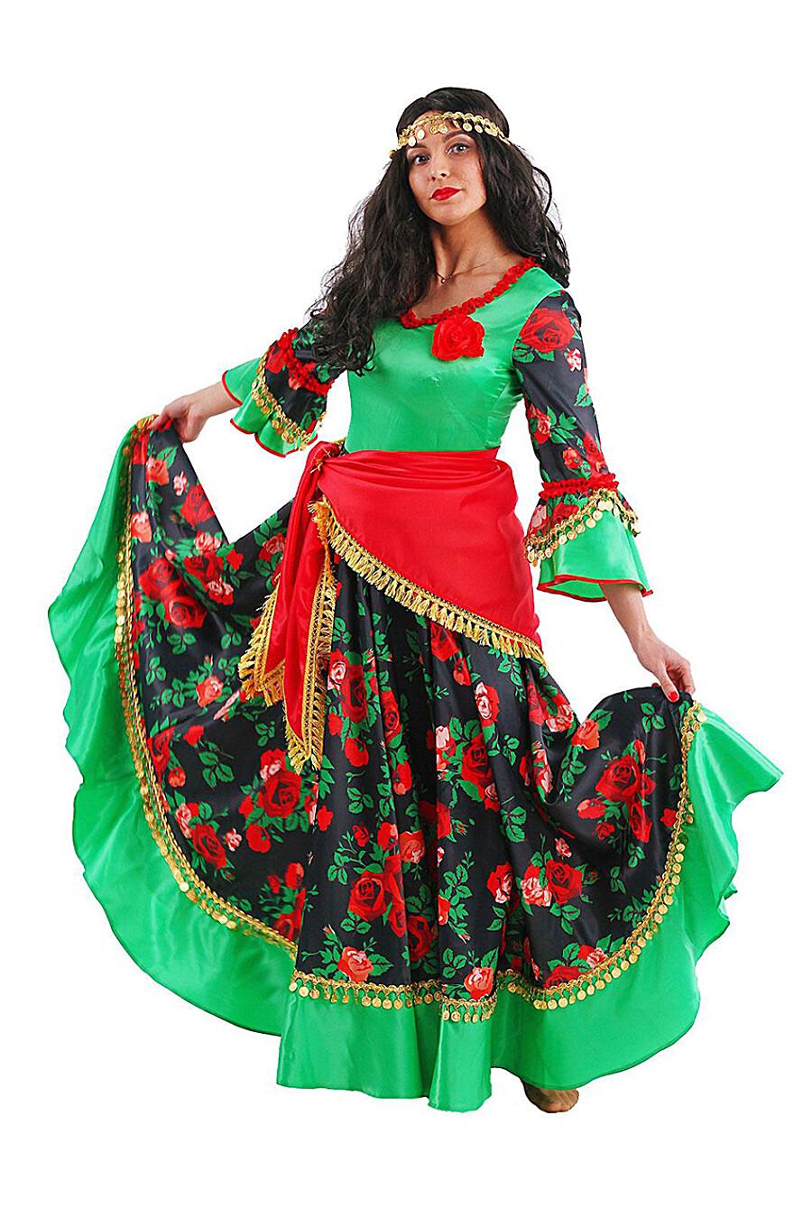 Костюм карнавальный для женщин BATIK 247444 купить оптом от производителя. Совместная покупка женской одежды в OptMoyo