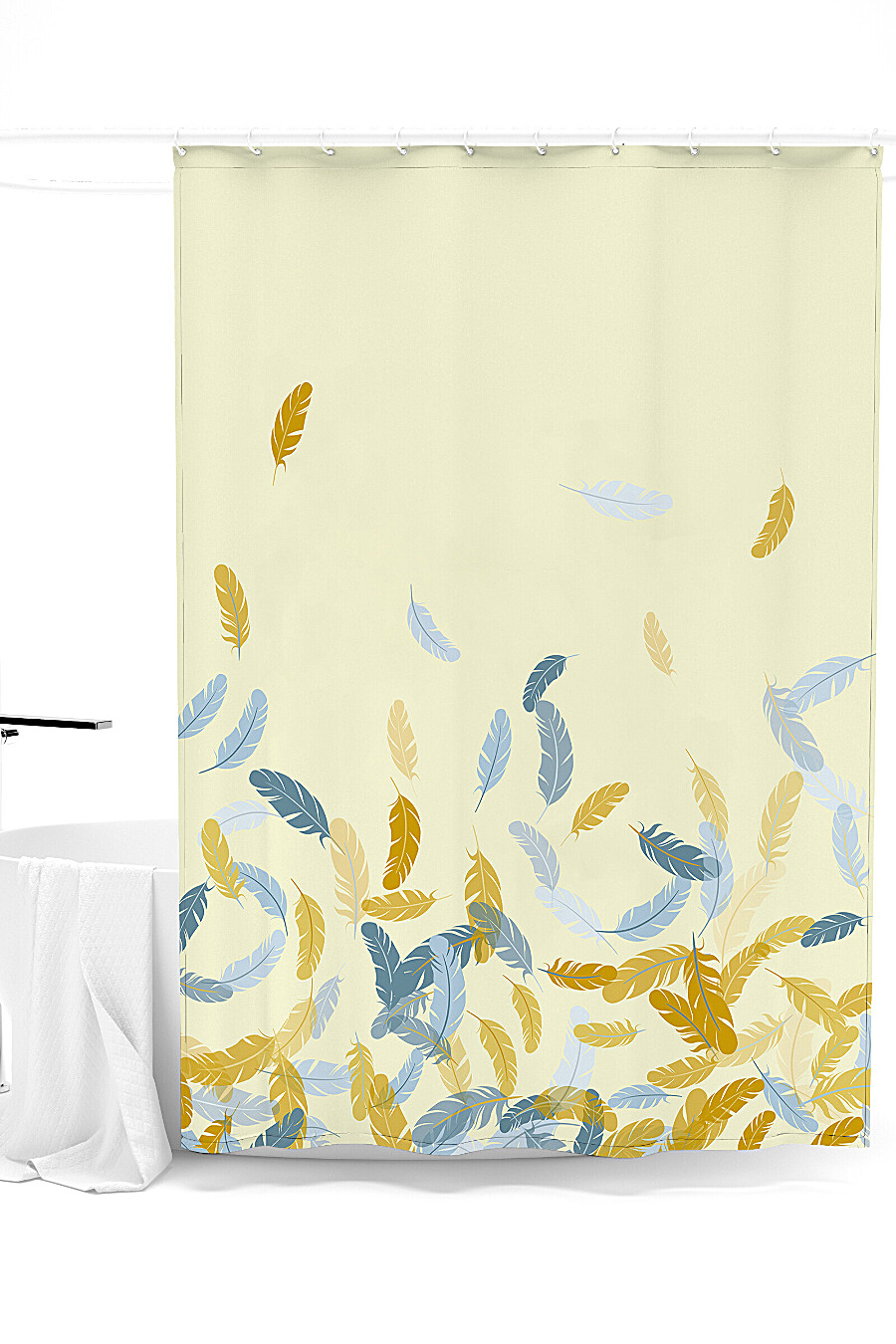 Штора для ванной для дома ART HOME TEXTILE 247933 купить оптом от производителя. Совместная покупка товаров для дома в OptMoyo
