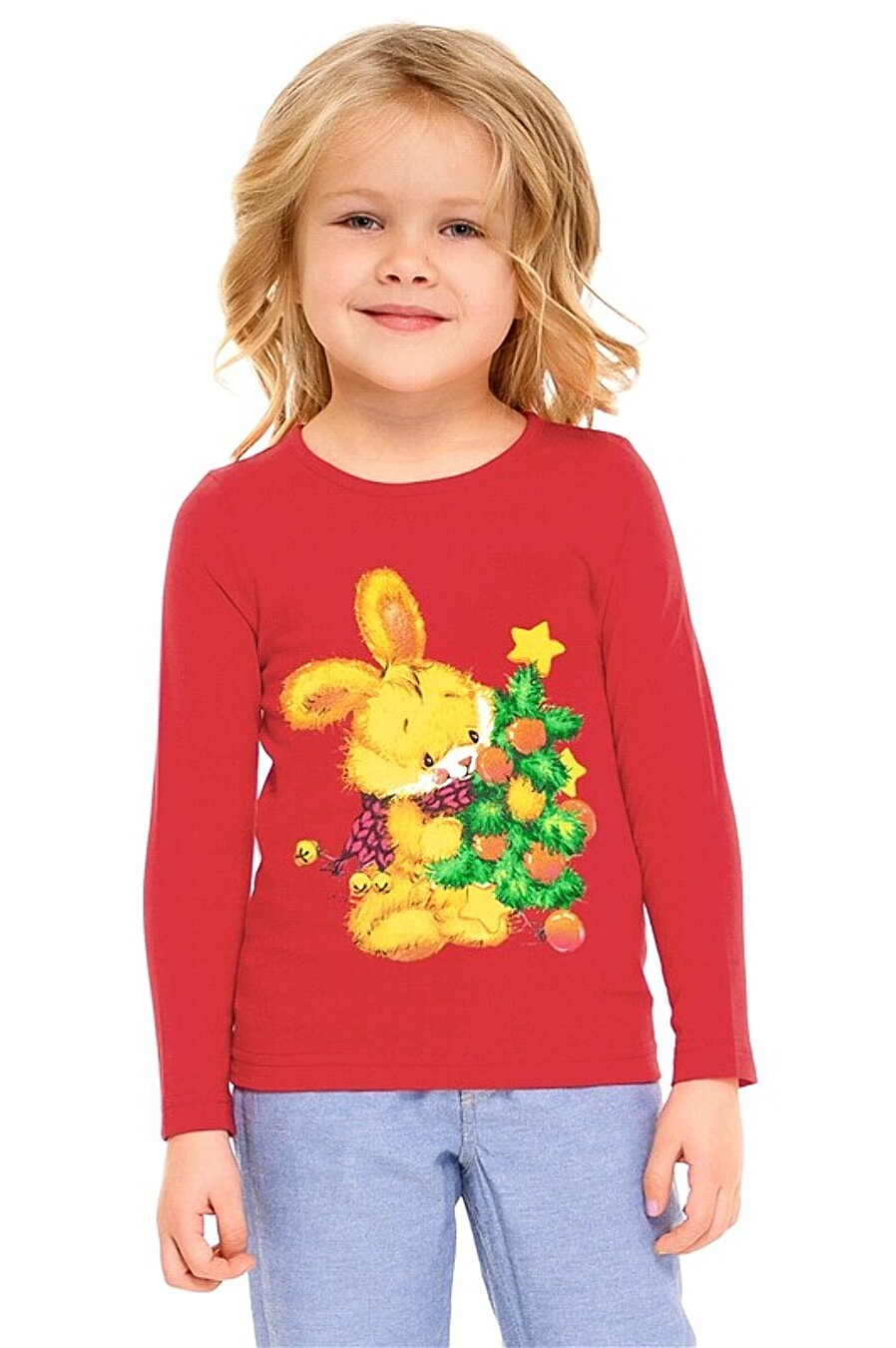 Лонгслив  для девочек Archi 261082 купить оптом от производителя. Совместная покупка детской одежды в OptMoyo