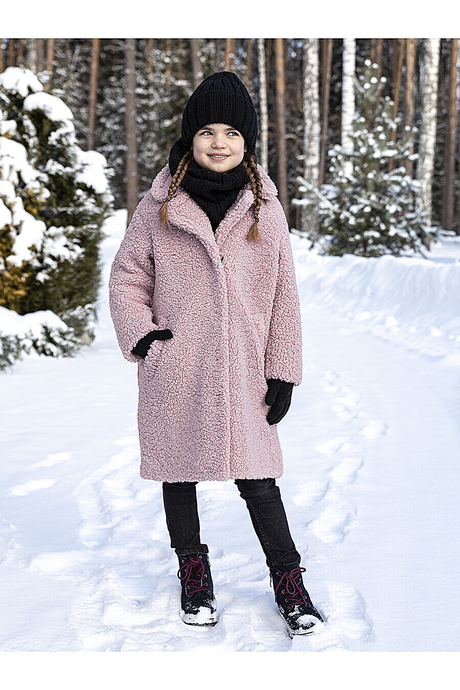 Пальто 6з5421 пудровый NIKASTYLE (289018), купить в Moyo.moda