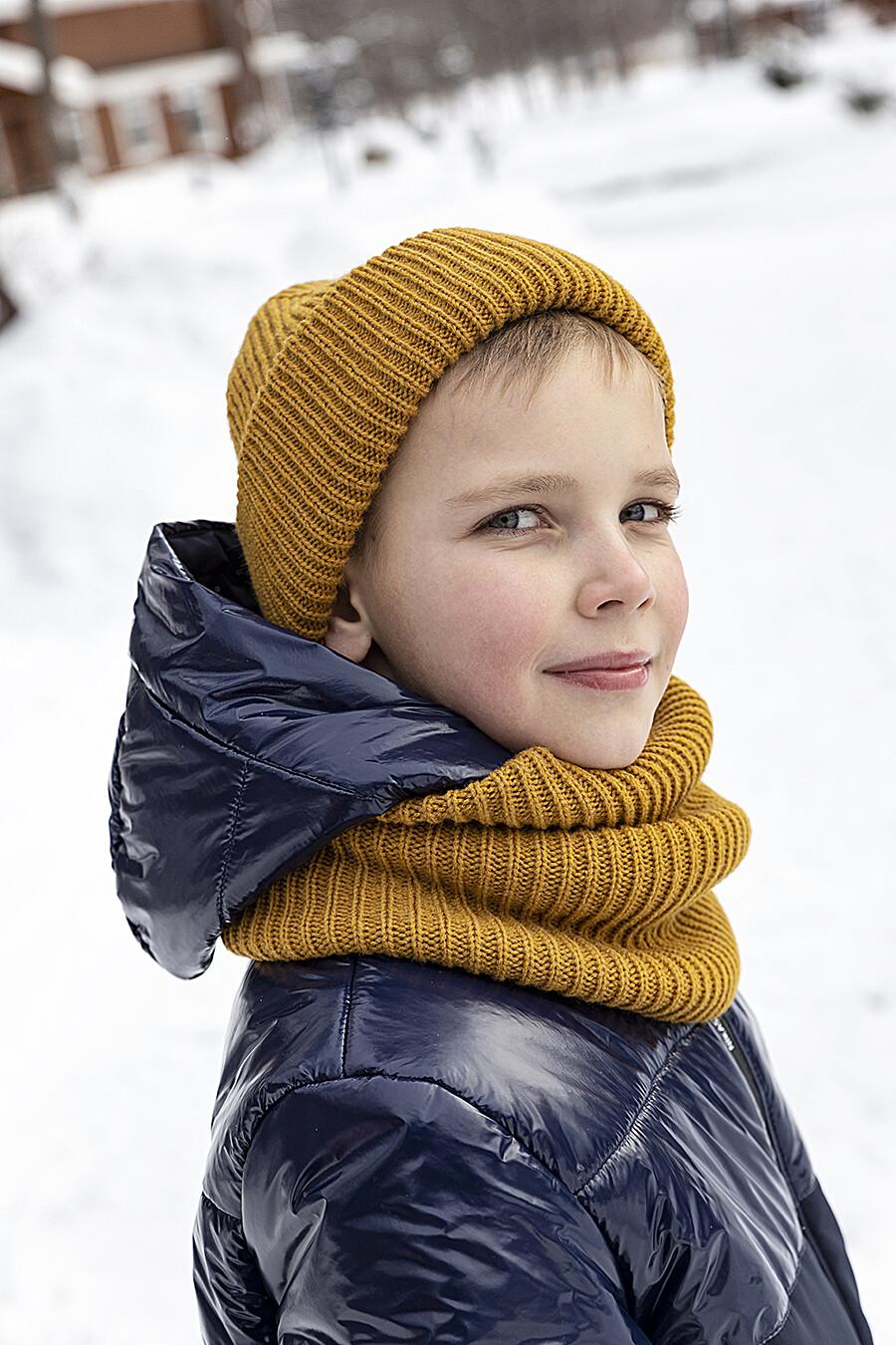 Комплект шапка и снуд 12з14721 горчичный NIKASTYLE (289138), купить в Moyo.moda