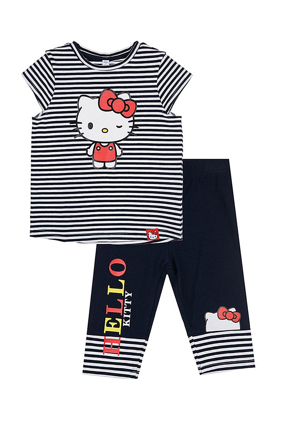 Комплект (Легинсы+Футболка) для девочек PLAYTODAY 289492 купить оптом от производителя. Совместная покупка детской одежды в OptMoyo
