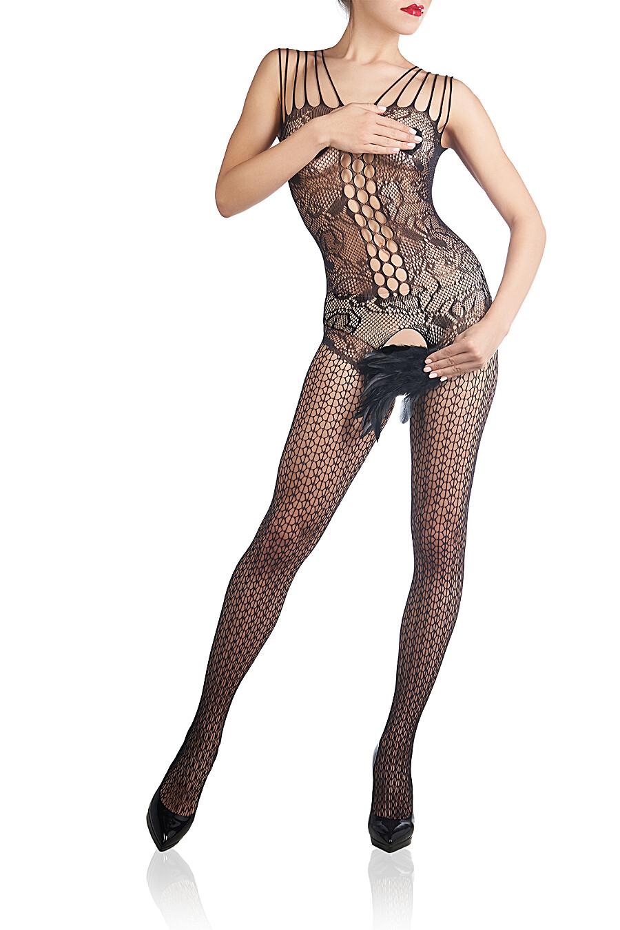 """Эротический комбинезон с вырезом в зоне бикини """"Жар тела"""" LE CABARET (307843), купить в Moyo.moda"""