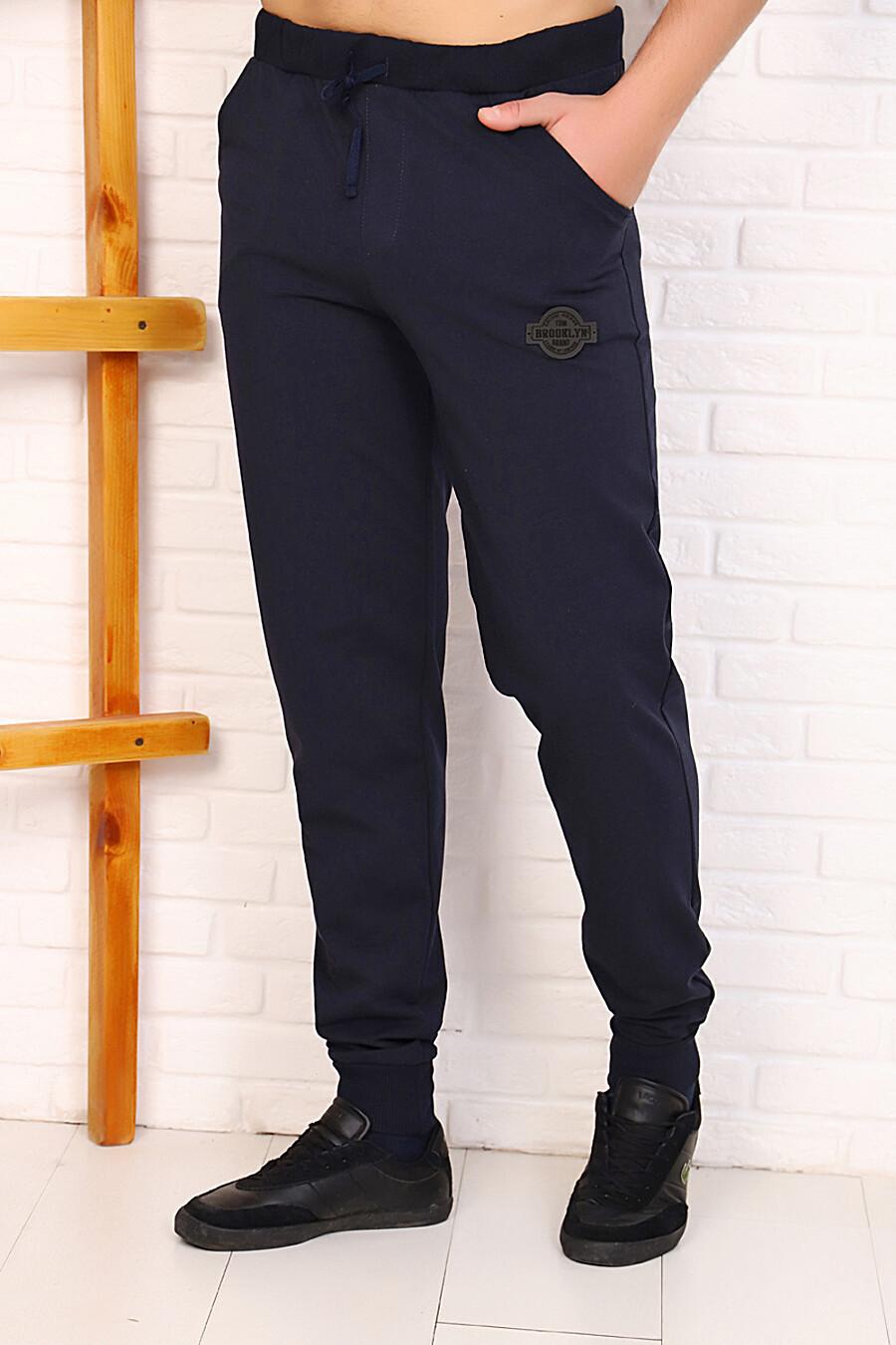 Брюки  23802 для мужчин НАТАЛИ 321661 купить оптом от производителя. Совместная покупка мужской одежды в OptMoyo