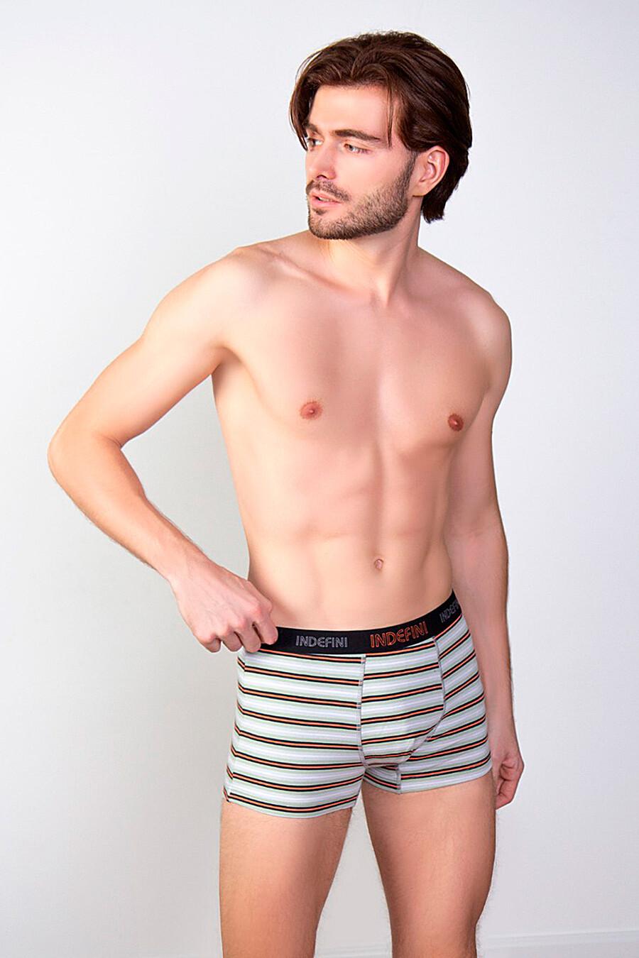 Трусы для мужчин INDEFINI 321781 купить оптом от производителя. Совместная покупка мужской одежды в OptMoyo