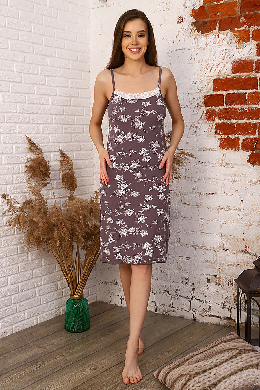 Сорочка 27557 для женщин НАТАЛИ 334816 купить оптом от производителя. Совместная покупка женской одежды в OptMoyo