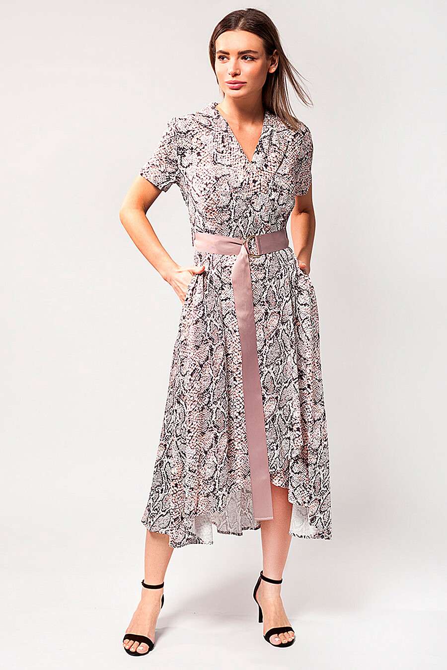 Платье для женщин VILATTE 334891 купить оптом от производителя. Совместная покупка женской одежды в OptMoyo