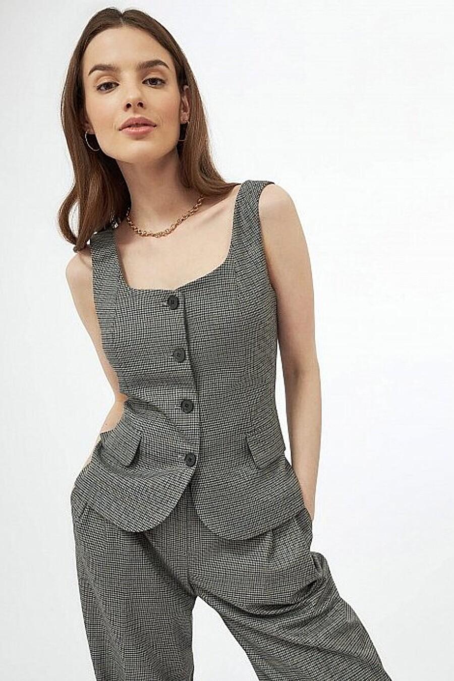Жилет для женщин CALISTA 348442 купить оптом от производителя. Совместная покупка женской одежды в OptMoyo