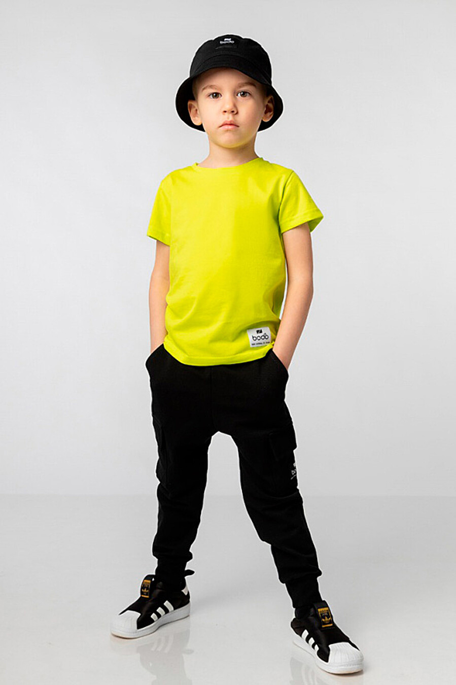 Футболка для мальчиков BODO 649021 купить оптом от производителя. Совместная покупка детской одежды в OptMoyo