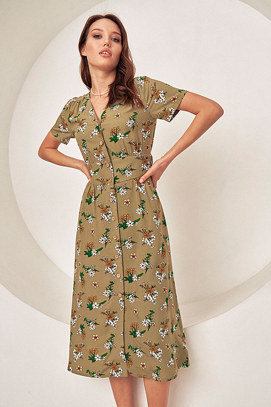 Платье для женщин VITTORIA VICCI 649093 купить оптом от производителя. Совместная покупка женской одежды в OptMoyo