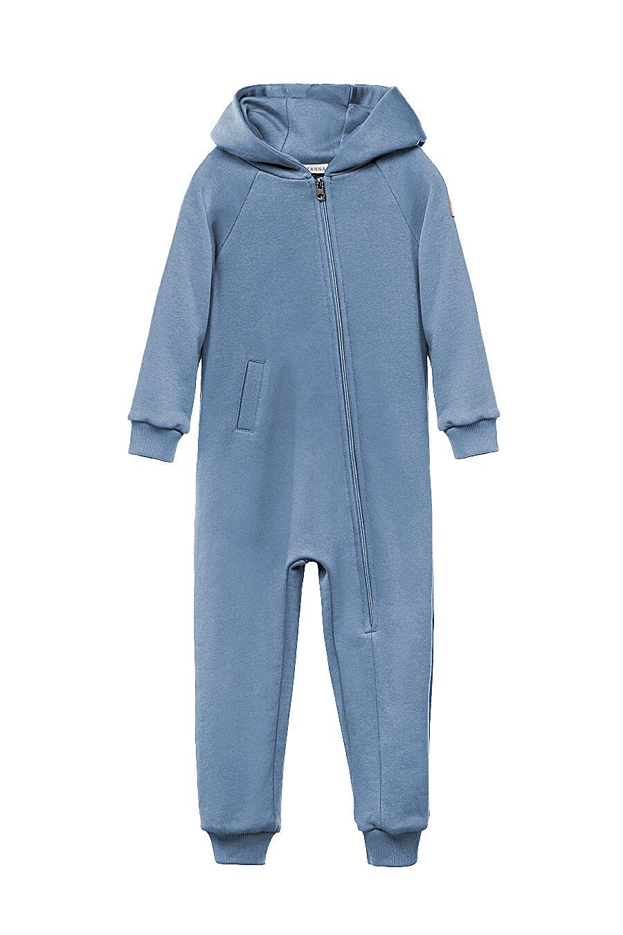 Комбинезон для девочек EZANNA 649180 купить оптом от производителя. Совместная покупка детской одежды в OptMoyo