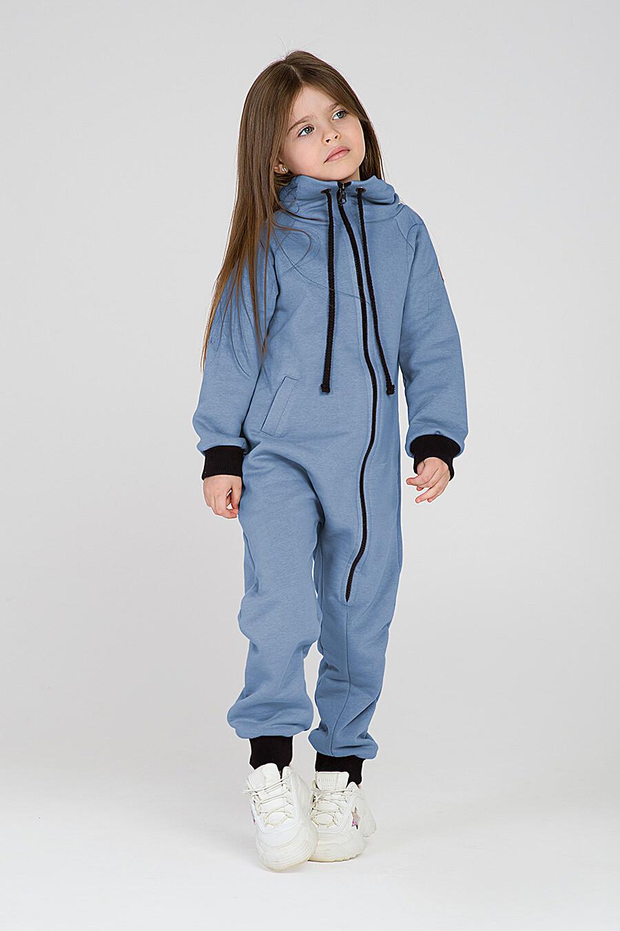 Комбинезон для девочек EZANNA 649183 купить оптом от производителя. Совместная покупка детской одежды в OptMoyo