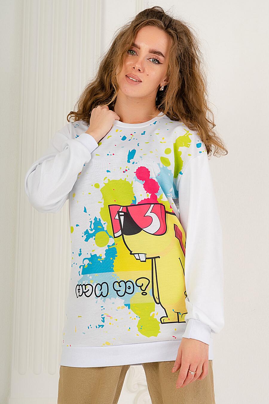 Толстовка 25593 для женщин НАТАЛИ 649318 купить оптом от производителя. Совместная покупка женской одежды в OptMoyo
