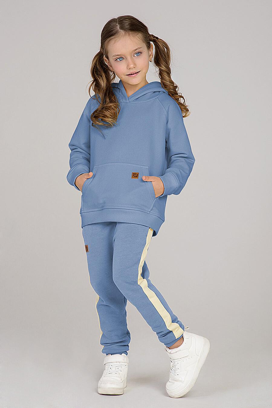 Худи для девочек EZANNA 649363 купить оптом от производителя. Совместная покупка детской одежды в OptMoyo