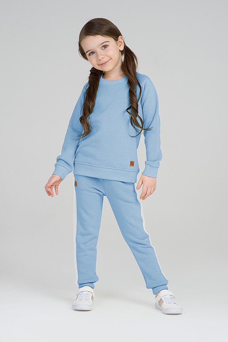 Свитшот для девочек EZANNA 668008 купить оптом от производителя. Совместная покупка детской одежды в OptMoyo