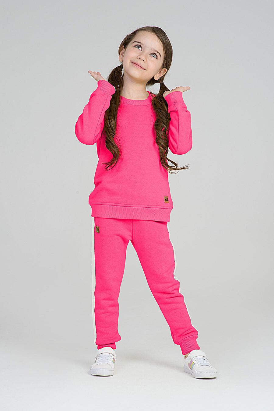 Свитшот для девочек EZANNA 668014 купить оптом от производителя. Совместная покупка детской одежды в OptMoyo