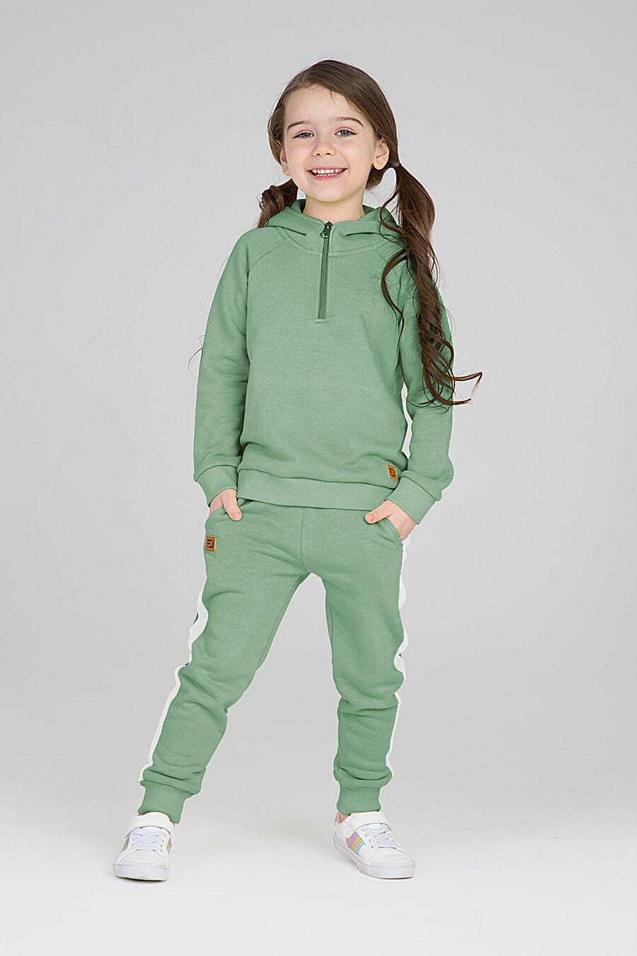 Худи для девочек EZANNA 668044 купить оптом от производителя. Совместная покупка детской одежды в OptMoyo