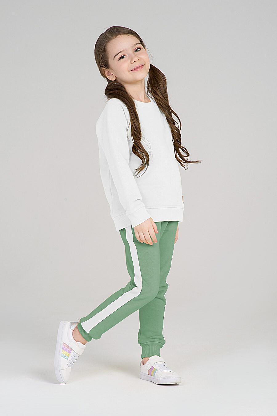 Брюки для девочек EZANNA 668071 купить оптом от производителя. Совместная покупка детской одежды в OptMoyo