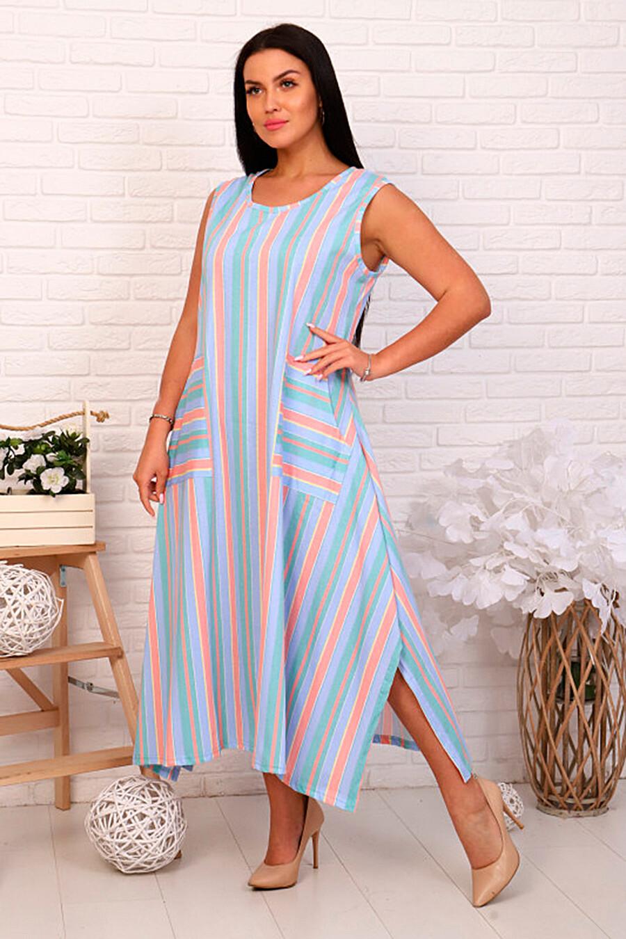 Сарафан для женщин SOFIYA37 668362 купить оптом от производителя. Совместная покупка женской одежды в OptMoyo