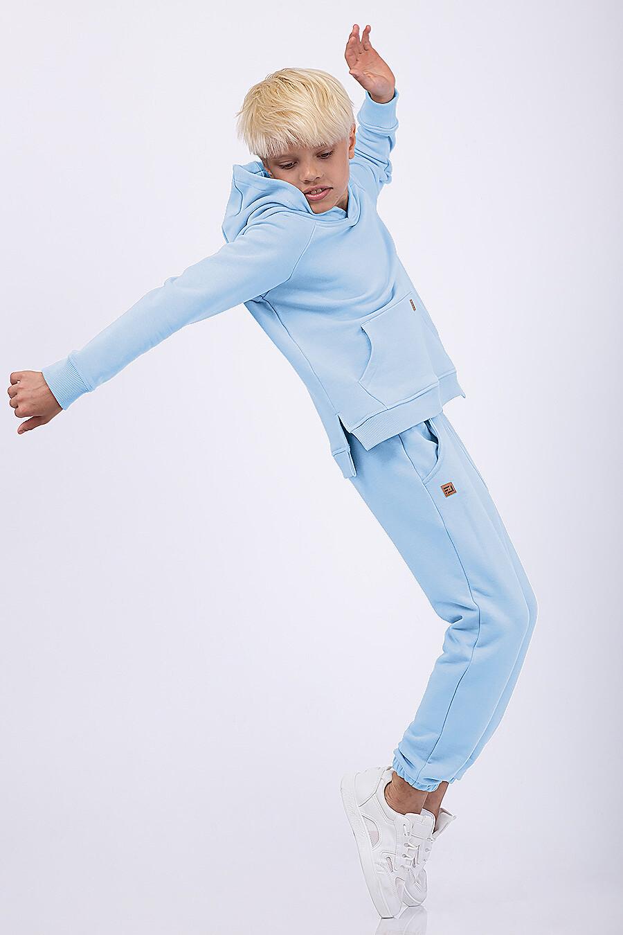 Худи для мальчиков EZANNA 682075 купить оптом от производителя. Совместная покупка детской одежды в OptMoyo