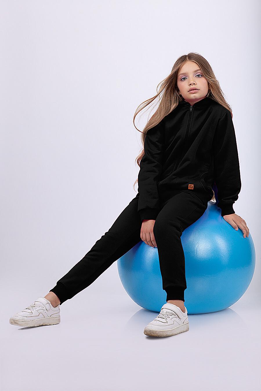 Толстовка для девочек EZANNA 682087 купить оптом от производителя. Совместная покупка детской одежды в OptMoyo
