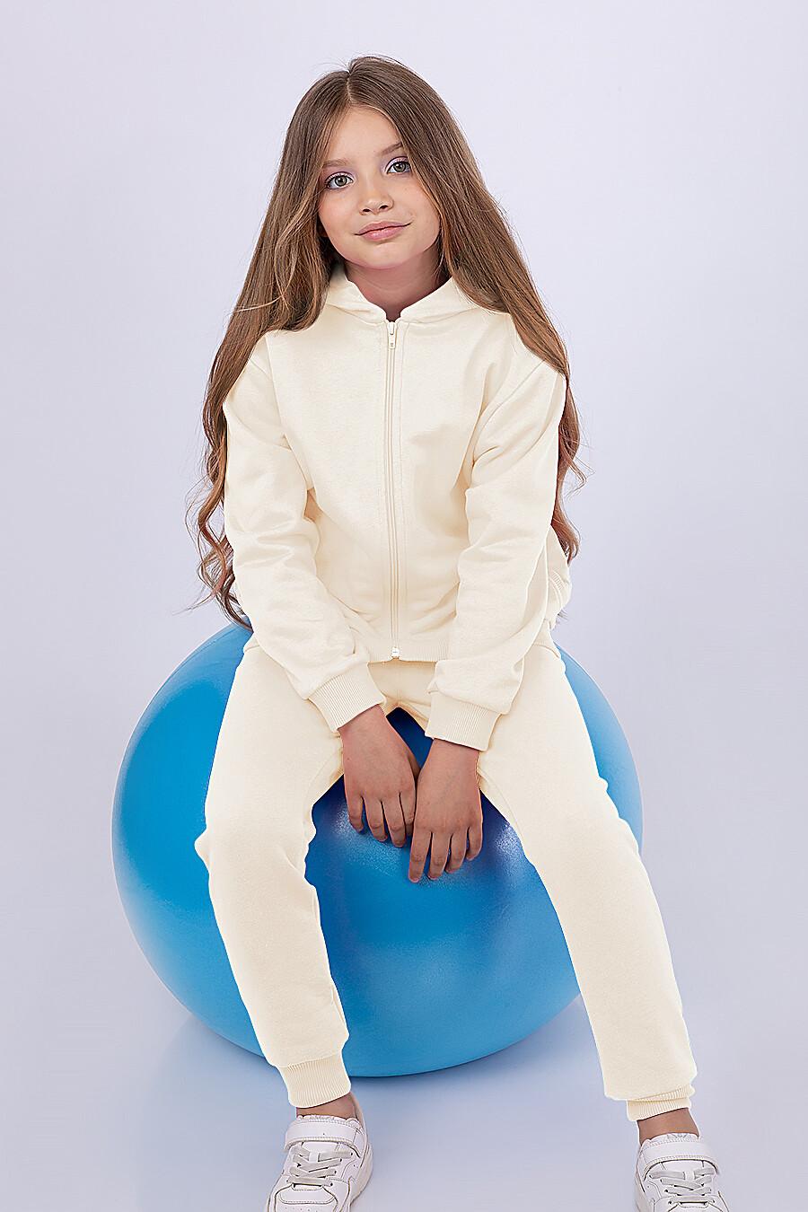 Толстовка для девочек EZANNA 682093 купить оптом от производителя. Совместная покупка детской одежды в OptMoyo