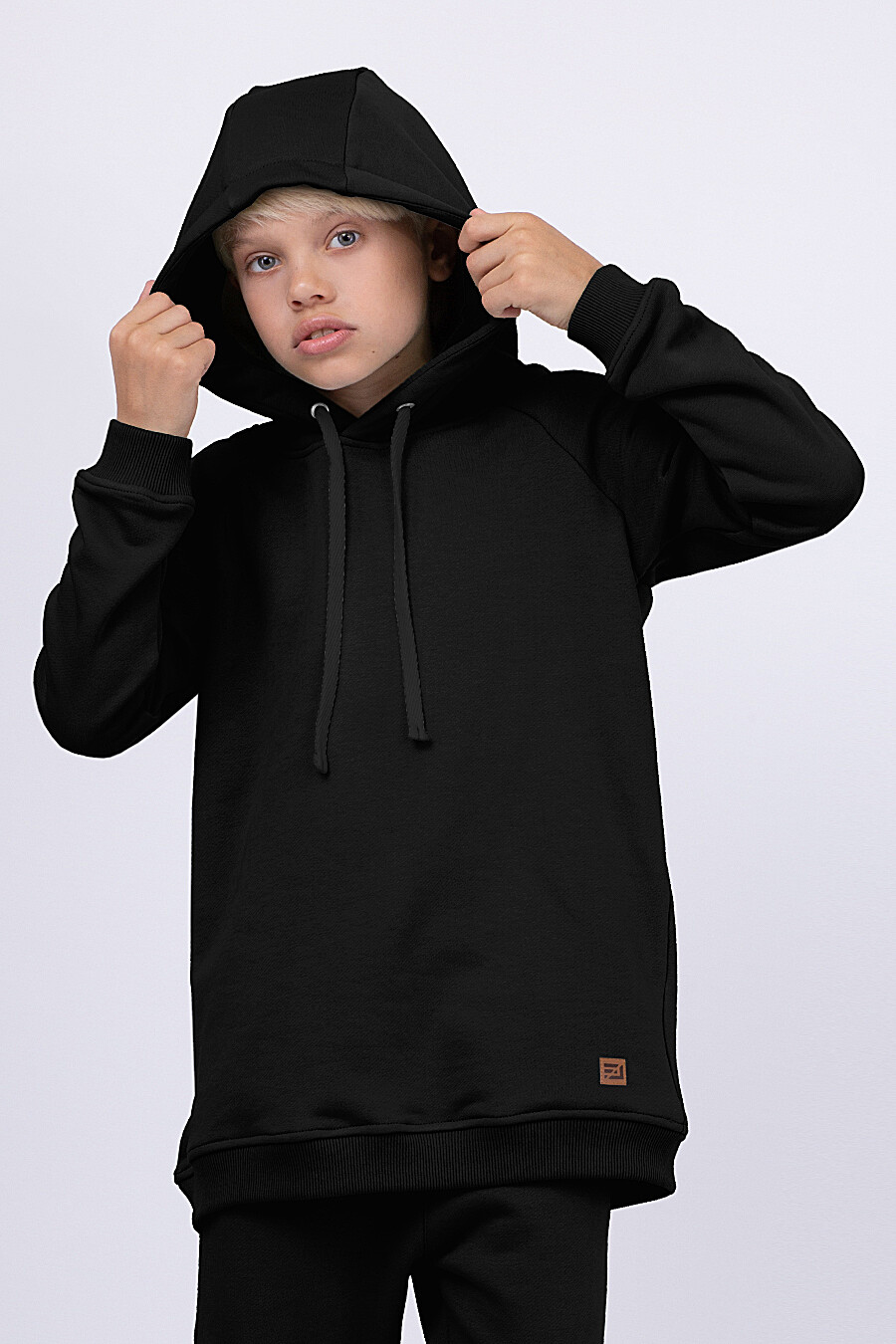 Худи для мальчиков EZANNA 682303 купить оптом от производителя. Совместная покупка детской одежды в OptMoyo