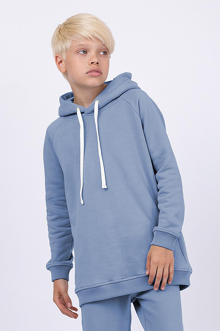 Худи для мальчиков EZANNA 682354 купить оптом от производителя. Совместная покупка детской одежды в OptMoyo