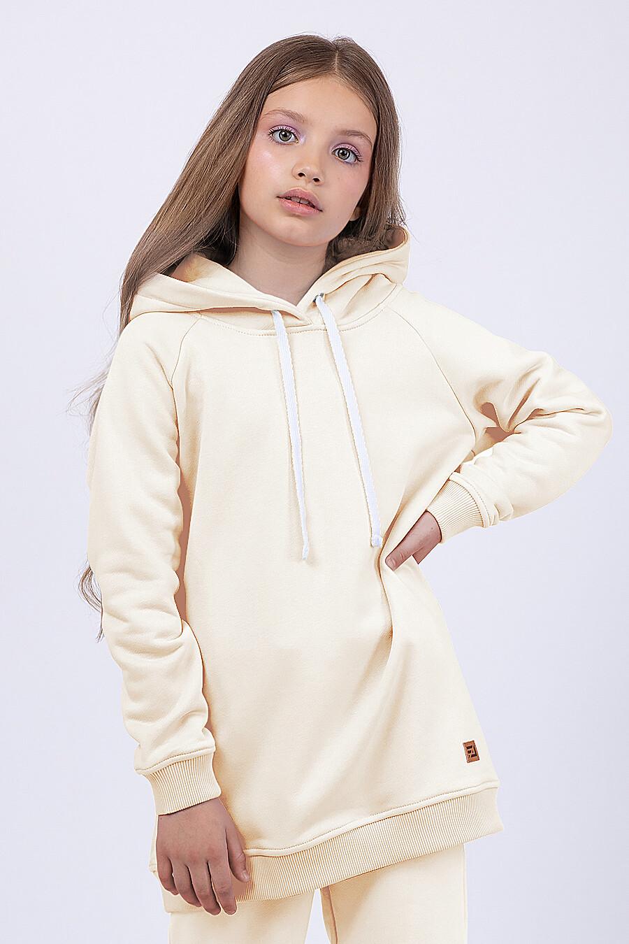 Худи для девочек EZANNA 682639 купить оптом от производителя. Совместная покупка детской одежды в OptMoyo