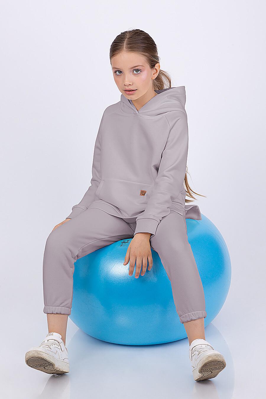 Брюки для девочек EZANNA 682657 купить оптом от производителя. Совместная покупка детской одежды в OptMoyo